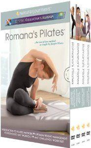 Romana's Pilates DVDs