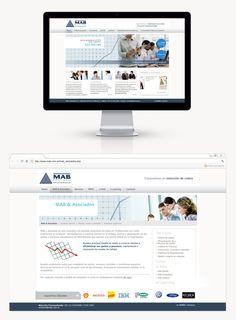 Diseñamos una página con un estilo clásico, siguiendo los requerimientos de la empresa. Trabajamos en conjunto con nuestro equipo de programación para que las novedades y proyectos nuevos tengan un backend para que la info sea administrable por el cliente.