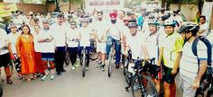 FICCI FLO Ludhiana organised a Cyclothon and Blood Donation Camp on 25th International Thalassemia Day in which Tanveer Singh Dhaliwal ( Sec General and Spokesperson YAD) had participated with the Youth Akali Dal workers in Cyclothon and donated hundreds units of blood  #YouthAkaliDal #YAD