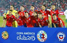 EQUIPOS DE FÚTBOL: CHILE Selección
