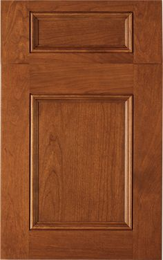 Valencia Raised Door Style By Woodmode Shown In Matte Potomac Finish On Walnut Wood Mode
