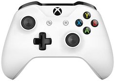 Microsoft - Mando Inalámbrico, Color Blanco (Xbox One) Bl…