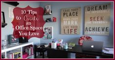 How to Organize a Home Office in 10 Steps: Keeping Style in Your Life