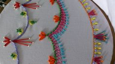 Hand embroidery stitches tutorial for beginners. Decorative stitches for...