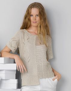 Book Woman Casual 88 Spring / Summer | 27: Woman Sweater | Beige