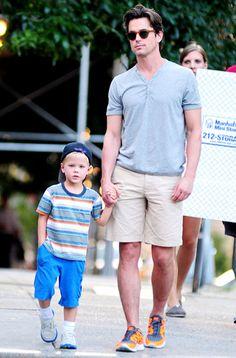 Matt Bomer & Son Kit
