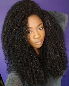 See this Instagram photo by @dr_kami • long Afro hair. Long natural hair. Long hair. Texture.