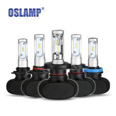 Oslamp H7 H11 H13 9005/HB3 9006/HB4 H4 자동차 전구 헤드 라이트 키트 담근 빔 및 높은 빔 크리어 칩 자동/SUV 안개 램프 6500 천개