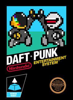 InsanelyGaming - Daft Punk NES - 8 bit