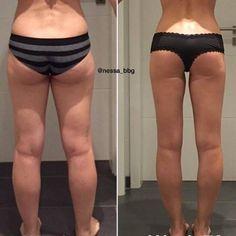 Fitness und Ernährung: So bekam Nessa einen Hintern aus Stahl | BRIGITTE.de