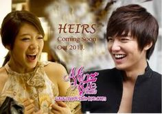 My favorite kdrama actor and actress together?!? Can't wait to watch Heirs in October when it hits DramaFever!!!!!!!