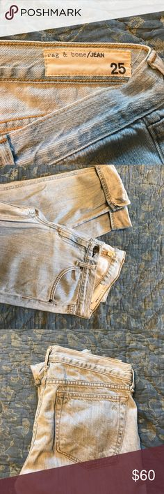 Rag & bone boyfriend jeans Loose fit rag & bone Jeans Boyfriend