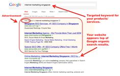 Your website appears in top of Google search results