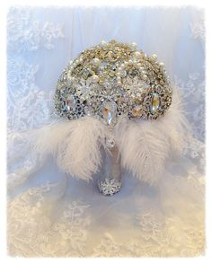 Gorgeous!! The Great Gatsby Brooch Bouquet.Deposit on by NatalieKlestov, $55.00