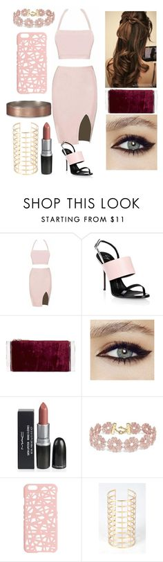 """""""cutie"""" by xpoisonousx ❤ liked on Polyvore featuring Giuseppe Zanotti, Edie Parker, BaubleBar, Miss Selfridge and Abercrombie & Fitch"""