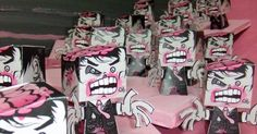 zombie paper toy craft