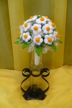 Flores de crochê. Seleção de inspiração (14) (464x700, 198Kb)