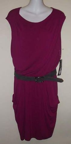 NEW Nine West Pink Fushia Belted Sexy Dress with Gathered Waist $63  http://www.ebay.com/itm/NEW-NWT-Nine-West-119-Pink-Fushia-Gathered-Waist-Belted-Cap-Sleeve-Dress-Size-8-/271130549414?pt=US_CSA_WC_Dresses=item3f20a3dca6
