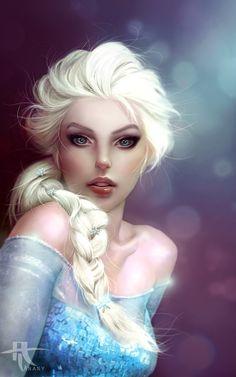 deviantart elsa | Elsa ( Frozen ) by Tannany