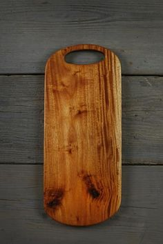 301. Large handcrafted sapele wooden cutting board for the kitchen. American made gift.