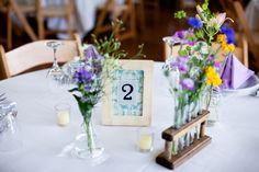 Rustic Chemistry Themed Montana Wedding