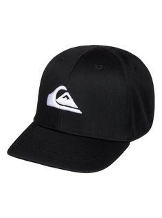 quiksilver, Baby Decades Snapback Hat, BLACK (kvj0)
