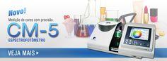 Konica Minolta Sensing Americas fornece soluções de medição e comunicação de cores, incluindo o espectrofotômetro, Scanner 3D, medidor de luz e dos instrumentos de medição para todos os setores onde a cor é fundamental.