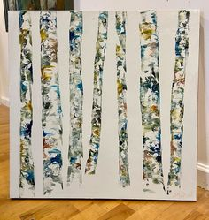 Color in Trees 24 x 24 Oil on Canvas Aspen Trees, Birch, Oil On Canvas, Artist, Painting, Color, Painted Canvas, Artists, Painting Art