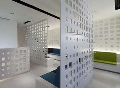 Chic Patterned Dividers - The Varia Ecoresin Collection by 3Form is Eco-Friendly and Fashionable (GALLERY)