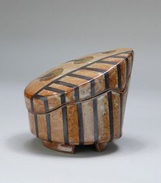 Untitled box, nd; Gift of Frieda Bradsher 200720241 click now to see more. Ceramic Tools, Ceramic Jars, Ceramic Clay, Hand Built Pottery, Slab Pottery, Ceramic Pottery, Slab Ceramics, Modern Ceramics, Earthenware