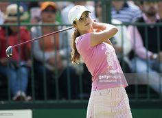Golfer Beatriz Recari during the tournament Lorena Ochoa Invitational at Country Club on November 11, 2010 in Guadalajara, Mexico.