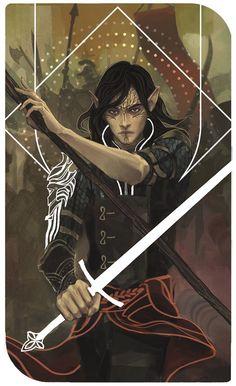 DA таро,Dragon Age,фэндомы,Инквизитор (DA),DA персонажи,Dragon Age Inquisition: