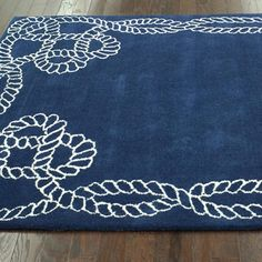 Lila Rug - coastal without too much coastal.  :-)