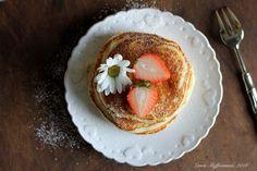 pancakes light ricetta yogurt