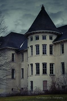 Traverse City State Hospital.  Copyright Christianson-Fox Photography