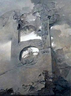 Здзислав Бексиньский -  Untitled   - Открыть в полный размер