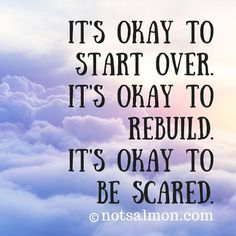 It's okay to start over via @notsalmon ♥ #andelicious