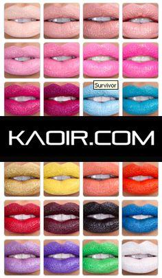 Keyshia KA'OIR #Lipsticks and Bright Colored #Cosmetics - www.KAOIR.com