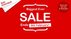 Sale extended! *Last chance* Ends 9th of Feb at Midnight >> http://www.loveholidays.com/landing/biggest-ever-sale.html