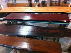 Custom Bar/Table Tops: Creative Designs By Mike Dale Of Kitsap Fine  Finishes At