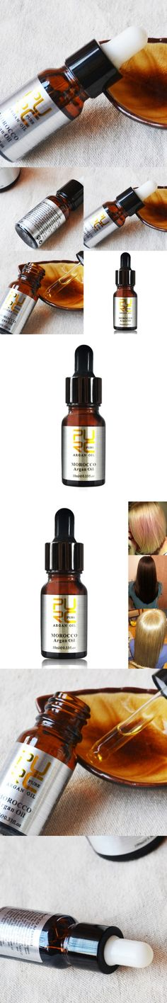 10 ml Pure Argan Oil For Hair Care Hair Oil Treatment For All Hair Types Hair Skin Treatment Heads  Essential Oil Hot Sale M2