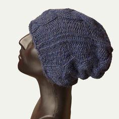 Men Knit Hat (100% Baby Alpaca wool)