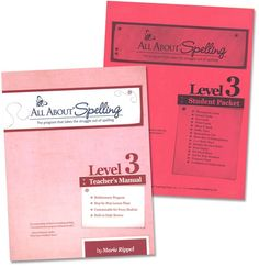 All About Spelling Level 3 Materials | Main photo (Cover)