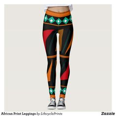 Shop African Print Leggings created by LifecyclePrints. Print Leggings, Look Cool, Body Types, Dressmaking, Hand Sewing, Things That Bounce, Custom Design, Cool Designs, African