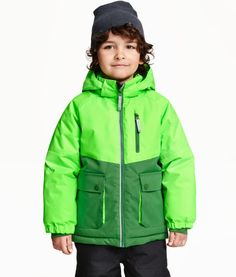 548de0786a73 Boys winter coats green