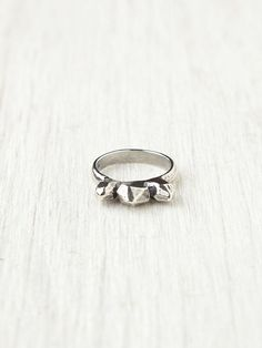 Concrete Polish Kivi Ring at Free People Clothing Boutique