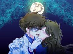 Kaito Kid and Aoko