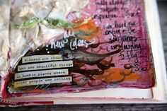 blessed are those. Altered Books, Altered Art, Cool Journals, Art Journals, Yes And Amen, Blessed Are Those, Art Journal Inspiration, Art Journal Pages, Smash Book