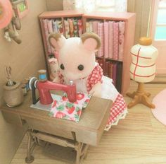 What I love about Sylvanian Families is how they mimic a simpler time of life, hard work and family values. Their accessories and adorable clothing only add to their charm.