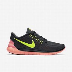 premium selection e0231 0de04  121.58 nike free 5.0 volt,Nike Womens Black Bright Mango Volt Free 5.0  Running Shoe